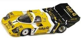 Porsche  - 1986 yellow/white/black - 1:43 - Spark - SJ019 - spaSJ019 | The Diecast Company