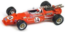 Coyote  - 1967 red - 1:43 - Spark - 43in67 - spa43in67 | The Diecast Company