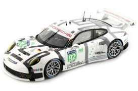 Porsche  - 2014 white - 1:43 - Spark - s4230 - spas4230 | The Diecast Company