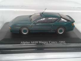 Renault Alpine - 1992 green - 1:43 - Magazine Models - REa610 - magREa610 | The Diecast Company