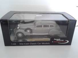 Mercedes Benz  - 1938 grey - 1:43 - Signature Models - sig43701gy | The Diecast Company