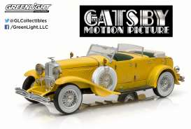 Duesenberg  - II SJ *the Great Gatsby* 1934 yellow - 1:18 - GreenLight - 12927 - gl12927 | The Diecast Company
