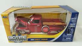 Chevrolet  - 1951 red - 1:24 - Jada Toys - 96223r - jada96223r | The Diecast Company
