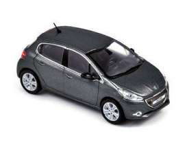Peugeot  - 2012 grey - 1:43 - Norev - 472812 - nor472812 | The Diecast Company