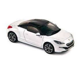 Peugeot  - RCZ 2010 white - 1:43 - Norev - 473869 - nor473869 | The Diecast Company