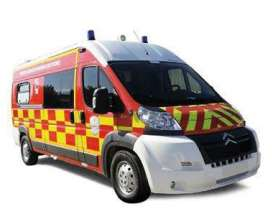Norev - Citroen  - nor155924 : 2013 Citroen Jumper Pompiers VSAV, red