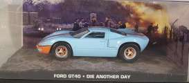 Ford  - GT40 light blue/orange - 1:43 - Magazine Models - JBGT40 - magJBGT40 | The Diecast Company
