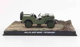 Willys  - 1953 green - 1:43 - Magazine Models - JBWilly - magJBWilly | The Diecast Company