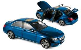 Mercedes Benz  - 2014 blue metallic - 1:18 - Norev - 183470 - nor183470 | The Diecast Company