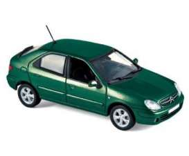 Citroen  - 2003 green - 1:43 - Norev - 154304 - nor154304 | The Diecast Company