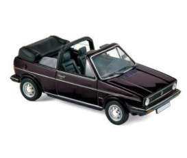 Volkswagen  - 1981 black - 1:43 - Norev - 840074 - nor840074 | The Diecast Company