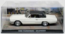 Ford  - Thunderbird 1964 white - 1:43 - Magazine Models - JBthunGold - magJBthunGold | The Diecast Company