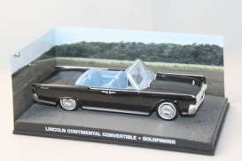 Lincoln  - black - 1:43 - Magazine Models - JBcontinental.C - magJBcontinental.C | The Diecast Company