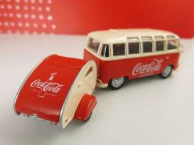 Volkswagen  - 1962 red/creme - 1:43 - Motor City Classics - mocity467433 | The Diecast Company