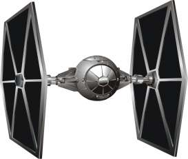 "Hotwheels Elite - Star Wars  - hwmvCMC92 : Star Wars Episode V *The Empire Strikes Back* Tie Fighter Starship 6""(around 15cm)."