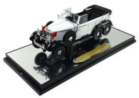 Mercedes Benz  - 1938 white - 1:43 - Signature Models - sig43706w | The Diecast Company