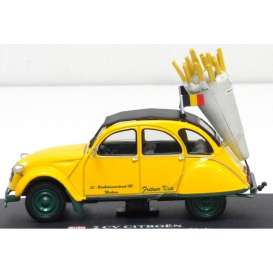 Citroen  - yellow - 1:43 - Magazine Models - AP2cvfrituur - magAP2cvfrituur | The Diecast Company