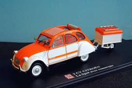Citroen  - orange/white - 1:43 - Magazine Models - AP2cvLaSpot - magAP2cvLaSpot | The Diecast Company