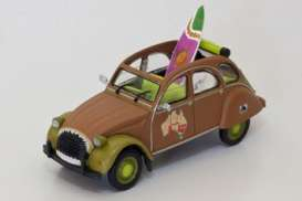 Citroen  - 2CV  brown - 1:43 - Magazine Models - AP2cvSurf - magAP2cvSurf | The Diecast Company