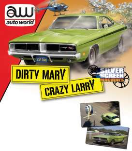Dodge  - 1969 green - 1:18 - Auto World - SS101 - AWSS101 | The Diecast Company