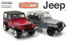 Jeep  - 1987  - 1:64 - GreenLight - 29822 - gl29822 | The Diecast Company