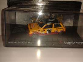Renault  - 5 Alpine #19 Rally 1978 yellow/black/red - 1:43 - Magazine Models - RAr5no19 - MagRAr5no19 | The Diecast Company