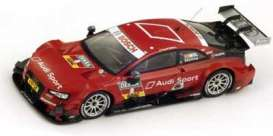 Audi  - 2014 red - 1:43 - Spark - sg173 - spasg173 | The Diecast Company