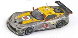Dodge  - silver/yellow - 1:43 - Spark - us008 - spaus008 | The Diecast Company
