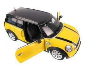 Mini  - yellow - 1:24 - Rastar - rastar37400y | The Diecast Company