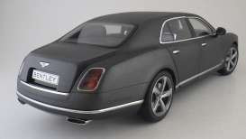 Bentley  - 2014 dark grey satin - 1:18 - Kyosho - 8910dgs - kyo8910dgs | The Diecast Company