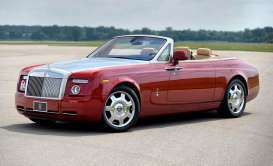 Rolls Royce  - Phantom Drophead Coupe ensign red - 1:18 - Kyosho - 8871er - kyo8871er | The Diecast Company