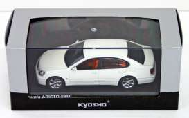 Toyota  - Aristo 1998 crystal white - 1:43 - Kyosho - 3792cw - kyo3792cw | The Diecast Company