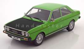Audi  - 1972 green/black - 1:18 - KK - Scale - kkdc180032 | The Diecast Company