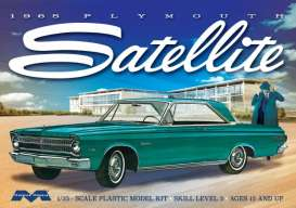 Plymouth  - Satellite 1965  - 1:25 - Moebius - M1215 - moes1215 | The Diecast Company