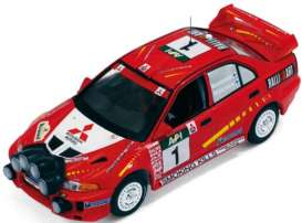 Mitsubishi  - 1998 red - 1:43 - IXO Models - ixram520 | The Diecast Company
