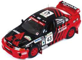 Mitsubishi  - 1999 black/red - 1:43 - IXO Models - ram523 - ixram523 | The Diecast Company