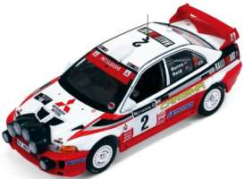 Mitsubishi  - 1998 white/red - 1:43 - IXO Models - ram522 - ixram522 | The Diecast Company