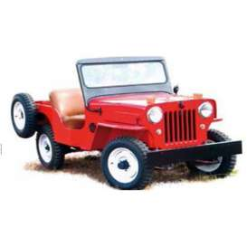 Ixo Premium X - Jeep  - ixPRD364 : 1953 Willys Jeep CJ3B, red