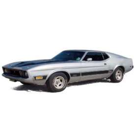 Ixo Premium X - Ford  - ixPRD398 : 1973 Ford Mustang Mach 1, silver