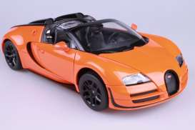 Bugatti  - 2014 orange - 1:18 - Rastar - rastar43900o | The Diecast Company