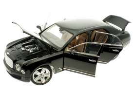 Bentley  - 2014 black - 1:18 - Rastar - rastar43800bk | The Diecast Company