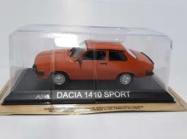 Dacia  - orange - 1:43 - Magazine Models - LCda1410 - magLCda1410 | The Diecast Company
