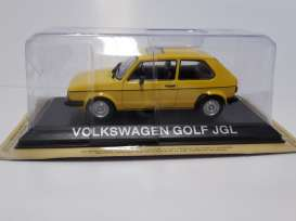 Volkswagen  - yellow - 1:43 - Magazine Models - lcVWgolf - maglcVWgolf | The Diecast Company