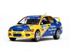 Mitsubishi  - 2013 yellow/blue - 1:43 - Vitesse SunStar - 43255 - vss43255 | The Diecast Company