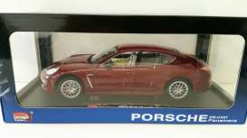 Porsche  - 2013 red-brown - 1:18 - MZ Model - MZ2017Br | The Diecast Company