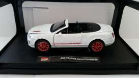 Bentley  - 2013 white - 1:24 - MZ Model - MZ26041w | The Diecast Company