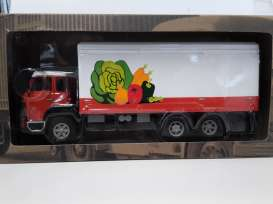 Saurer  - red/white - 1:43 - Magazine Models - TRUvegy - magTRUvegy | The Diecast Company