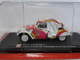 Citroen  - white - 1:43 - Magazine Models - AP2cvCross - magAP2cvCross | The Diecast Company