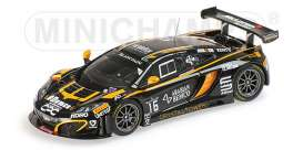 McLaren  - 2014 black - 1:43 - Minichamps - 437141316 - mc437141316 | The Diecast Company