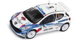 Peugeot  - 2013 white/blue - 1:43 - IXO Models - ram557 - ixram557 | The Diecast Company